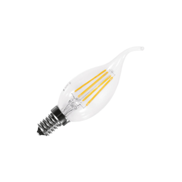 LED FILAMENT BT35 E14 4W 2700K FLAME gyertyaláng fényforrás