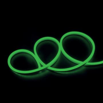 LED NEON STT 230V 2835 zöld LED szalag IP65