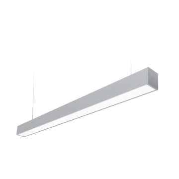 LED SONATA 40W 3000K LED függesztett lámpatest ezüst