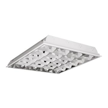 NEOLUX 4XT8 LED 60cm OM felületre szerelhető rácsos lámpatest LED T8 DE fénycsőhöz