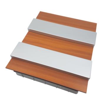 PRO BOX DELUX 24 modulos süllyesztett elosztó doboz Tölgy