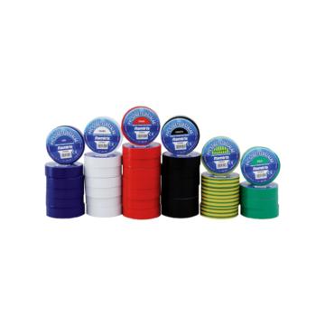 PVC szigetelőszalag 0,13mmx19mmx20m zöld-sárga