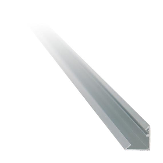 Alu Profil LED szalaghoz 16.1x16.1 nyitott sarok profil