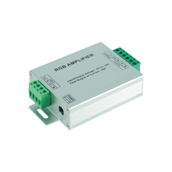 Áramerősítő LED szalaghoz 12V 24A