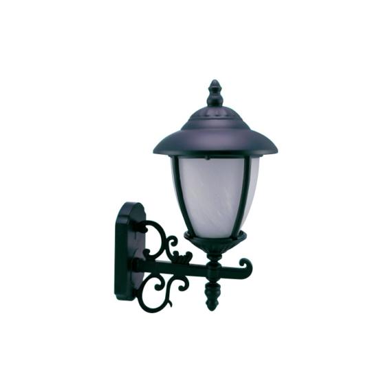 CB 01 W OG antik réz fali kerti lámpakar