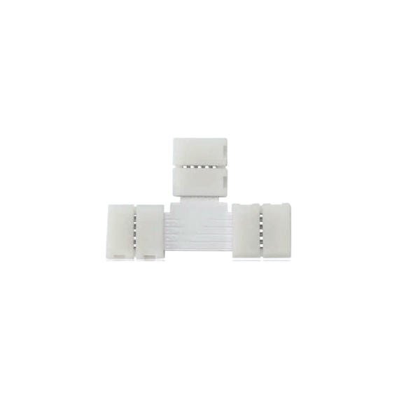 CONNECTOR T LED szalaghoz RGB 10mm