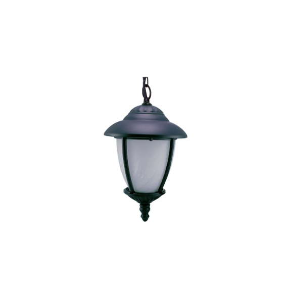 CS 04 H B fekete kerti függő lámpatest