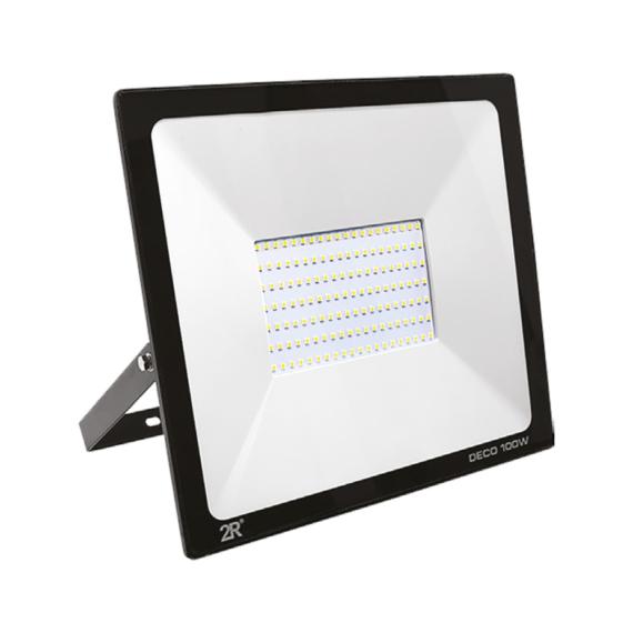 DECO LED reflektor 100W 6000K fekete