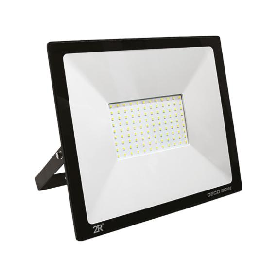 DECO LED reflektor 80W 6000K fekete