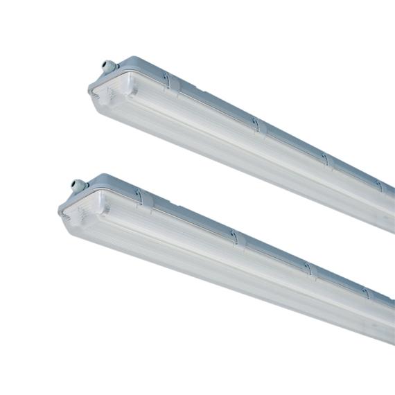E PLUS PRO 2XL1500 IP65 150° por és páramentes lámpatest LED csőhöz előszerelt