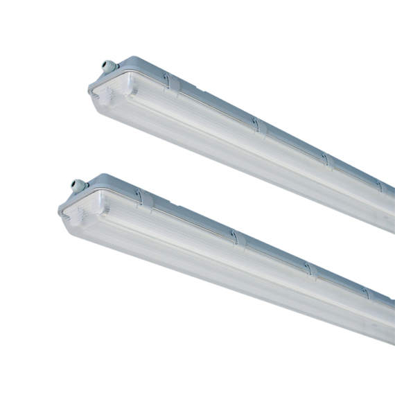 E PLUS PRO 2XL1500 SE por-páramentes lámpatest T8 LED single end csőhöz előszerelt