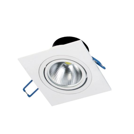 HILUX LED FTS S 5W 4500K szögletes mélysugárzó