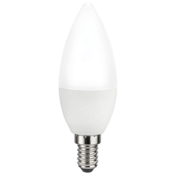 LED CLE 5W 3000K LED E14 Opál gyertya fényforrás