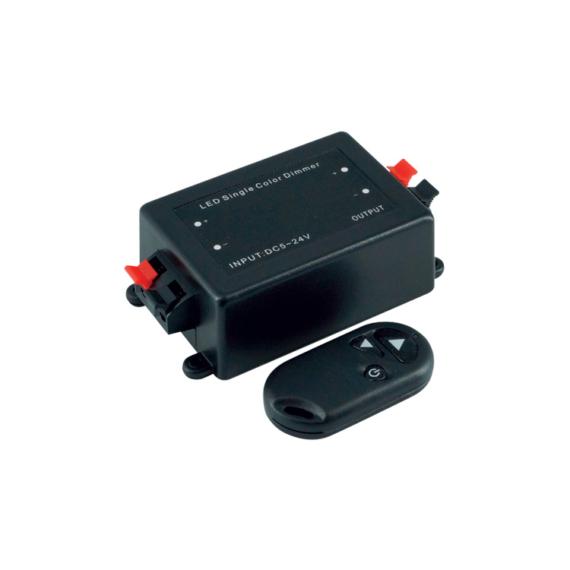 LED DIMMER 12V 8A RF LED fényerőszabályozó távirányítóval