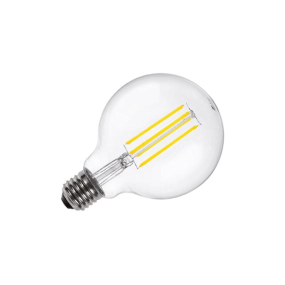LED FILAMENT G95 E27 4W 2700K Dimmelhető fényforrás