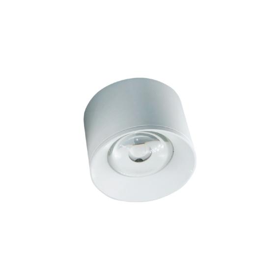 LED FTS R1605 12W felületre szerelhető mélysugárzó kerek fehér