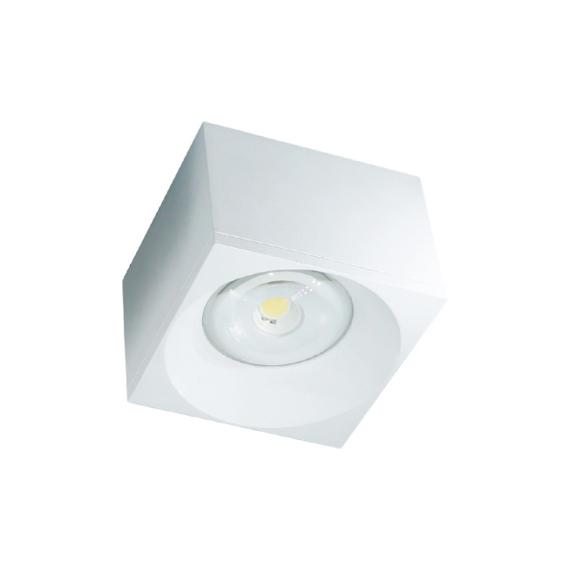 LED FTS S1605 7W felületre szerelhető mélysugárzó szögletes fehér