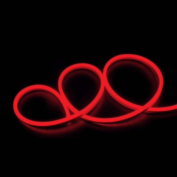 LED NEON STT 230V 2835 piros LED szalag IP65
