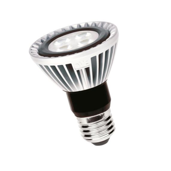 LED PAR20A 7W 3000K PAR LED E27 szpot fényforás 25°