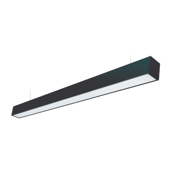 LED SONATA 40W 4000K LED függesztett lámpatest fekete