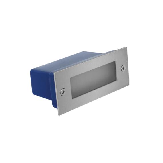 LED STAIR QJ 3W lépcsővilágító lámpatest ezüst