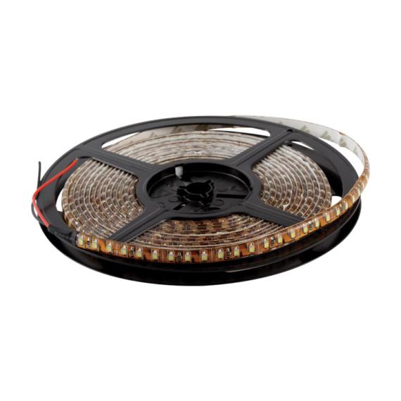 LED szalag 60 3528 piros IP54 DC12V, 5m/tekercs
