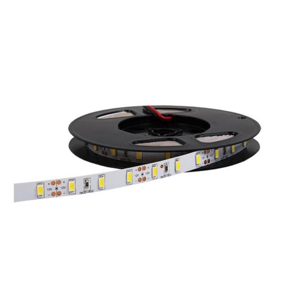 LED szalag 60 5730 6000K IP20 DC12V, 5m/tekercs