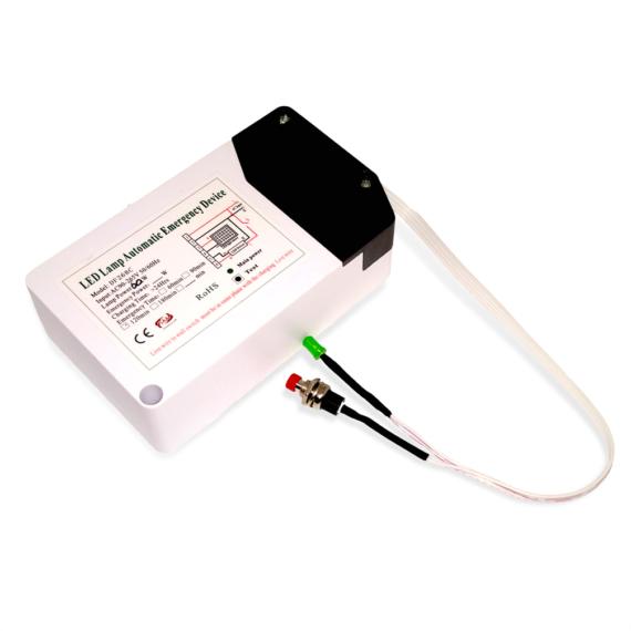 LED Vészvilágító inverter 2h Li-ion