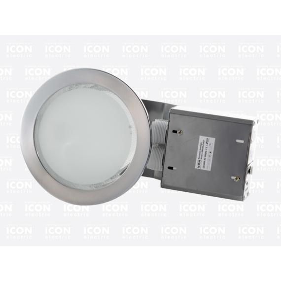 LISMORE-E 2x26W IP20/44 mennyezeti lámpatest ezüst