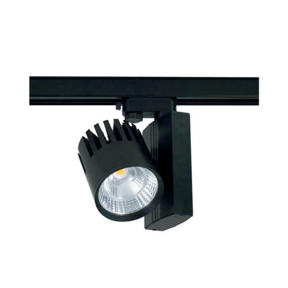 METRO PAM 50W 3000K 3 fázisú sínes lámpatest fekete