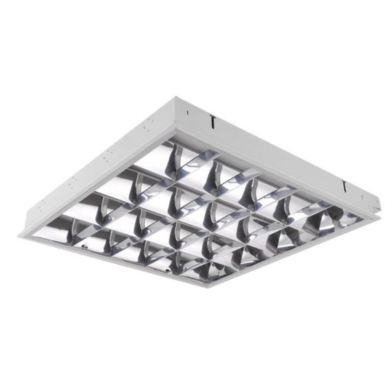 NOVARA2 418FLS álmennyezeti lámpatest LED T8 fénycsőhöz