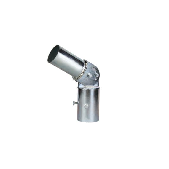 PR adapter oszlopfej lámpatartó adapter állítható, galvanizált-porszórt