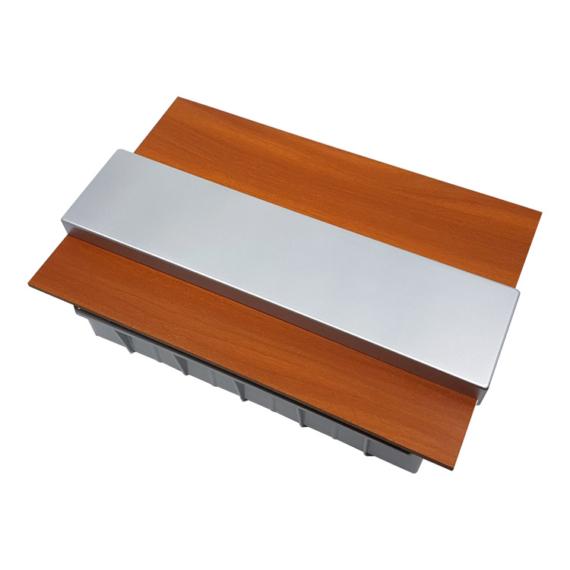 PRO BOX DELUX 12 modulos süllyesztett elosztó doboz Tölgy