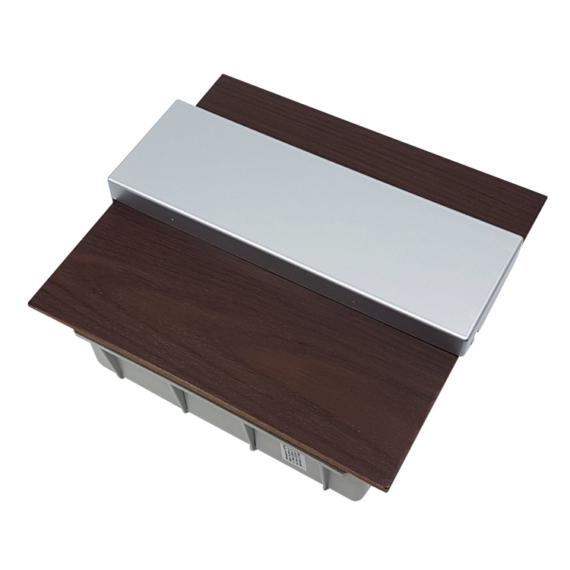 PRO BOX DELUX 12 modulos süllyesztett elosztó doboz Wenge