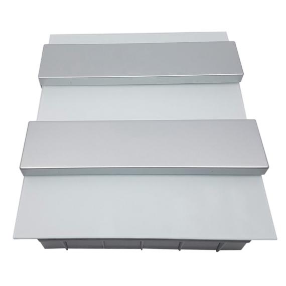 PRO BOX DELUX 24 modulos süllyesztett elosztó doboz Fehér