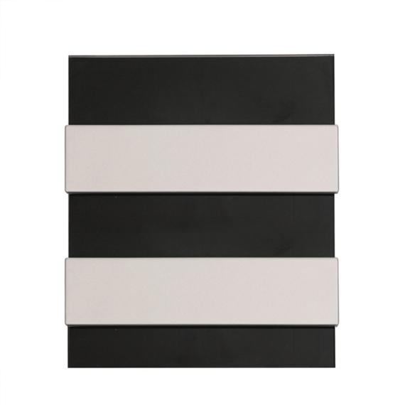 PRO BOX DELUX 24 modulos süllyesztett elosztó doboz Fekete