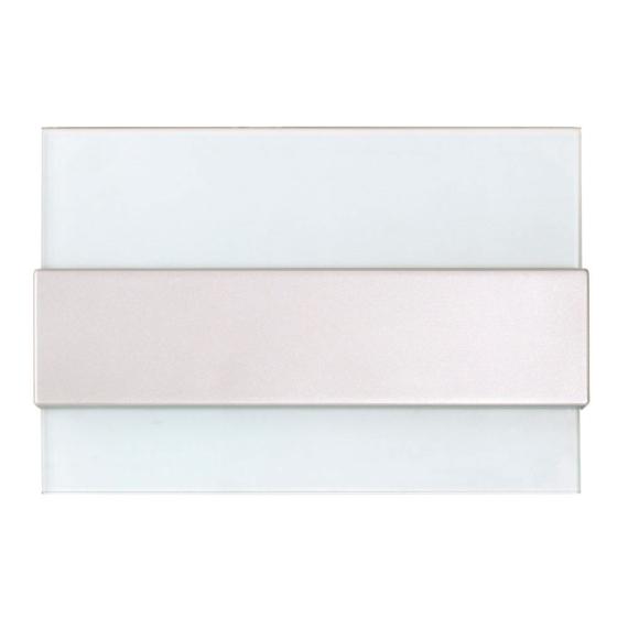 PRO BOX DELUX 8 modulos süllyesztett elosztó doboz Fehér