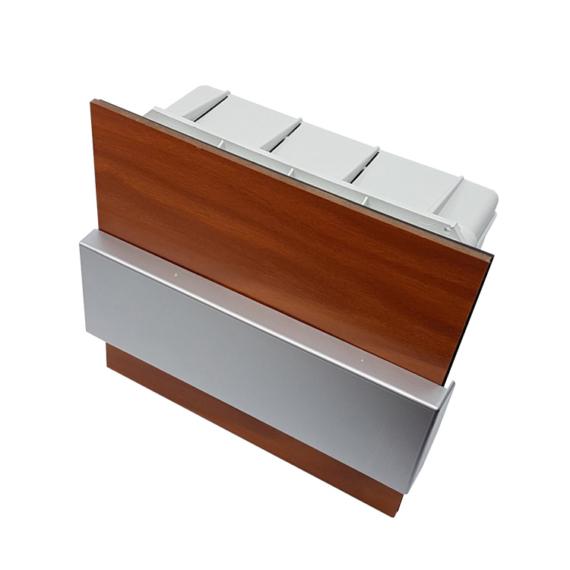 PRO BOX DELUX 8 modulos süllyesztett elosztó doboz Tölgy