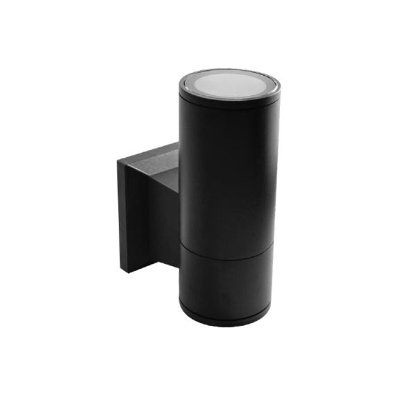 RINO 104 SB egyfelé világító fekete fali lámpa