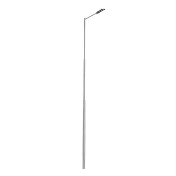 STS POLE 7M/3/108 galvanizált 3 részből álló lámpatartó oszlop 7m