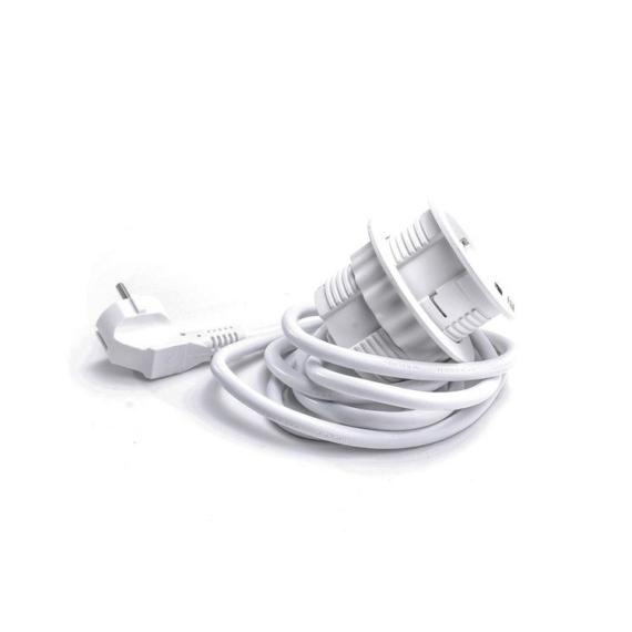 Süllyesztett hálózati elosztó fehér