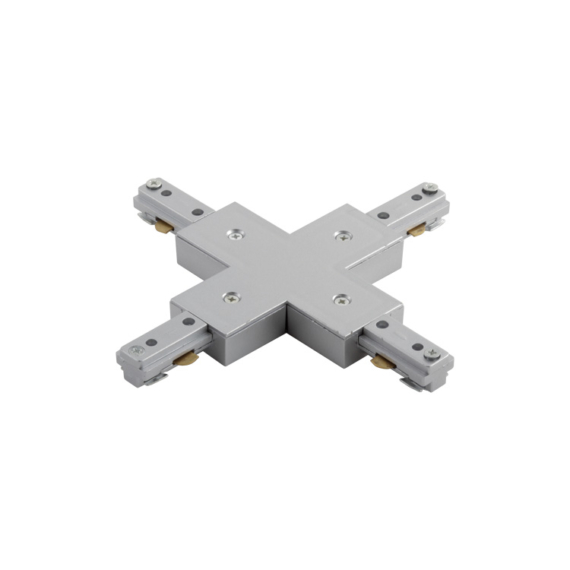 T3-XJ 1 fázisú sín X toldó ezüst