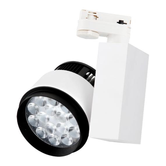 TLED 314 30W 3000K egyfázisú sínes lámpatest