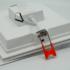 Kép 4/5 - CAPRI GLASS S 12W 3 WHITE szögletes mélysugárzó