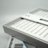 Kép 5/5 - CAPRI S300 30W 3000K felületre szerelhető szögletes lámpatest