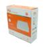 Kép 5/5 - FSL DELUX S106 18W 4000K felületre szerelhető szögletes mélysugárzó