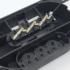Kép 5/5 - HANDLE 250V 16A Gumírozott 3-as elosztó Fekete