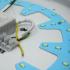 Kép 4/6 - IRIS SENSE F300 12W 4500K lámpatest