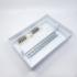 Kép 4/4 - PRO BOX 12 modulos süllyesztett elosztó doboz Fehér