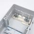 Kép 3/4 - PRO BOX 4 modulos süllyesztett elosztó doboz Fehér